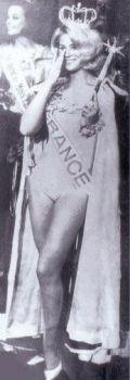 Miss Europe 1966 est Miss France !
